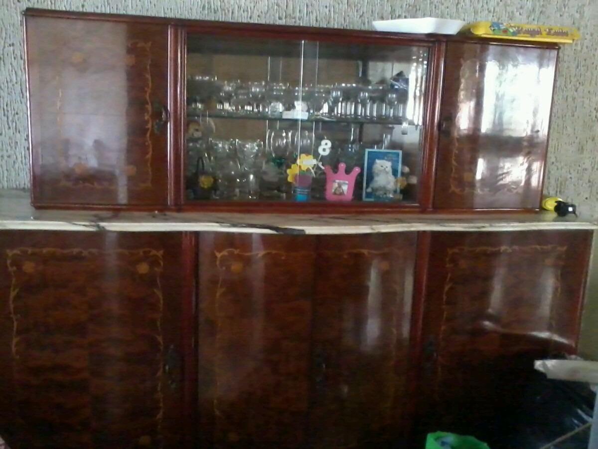 Muebles Luis Xv Cristaleros Y Vajilleros Antiguos En Mercado  # Muebles Vajilleros Antiguos