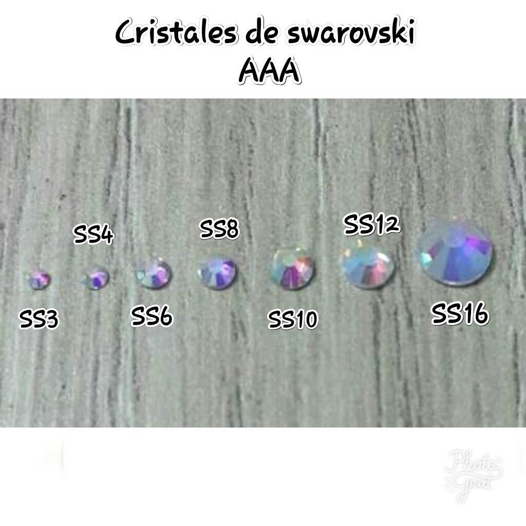 Cristales de swarovski aaa para la determinaci n de u as for Cristales swarovski para decorar unas