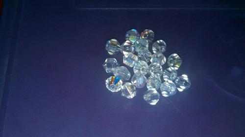 cristales de swarovski blanco 4 mm 22 unidades