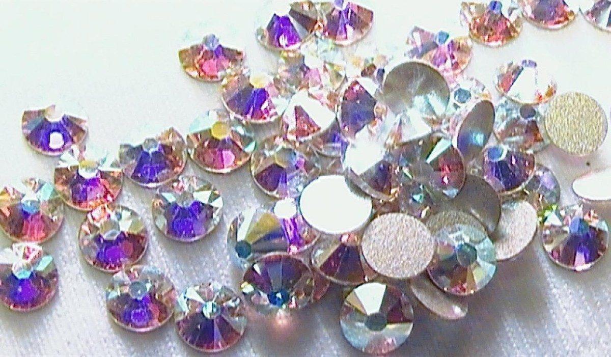 Cristales de swarovski para u as en acrilico y en gel 240 for Piedras swarovski para unas