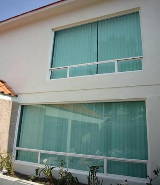 Cristales ventanas mamparas aluminio techos de for Ventanas de aluminio colores precios