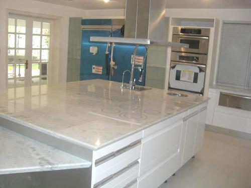 cristalización pisos y montura de topes de granito