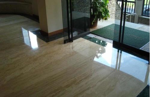 cristalizado de pisos de mármol y granito.
