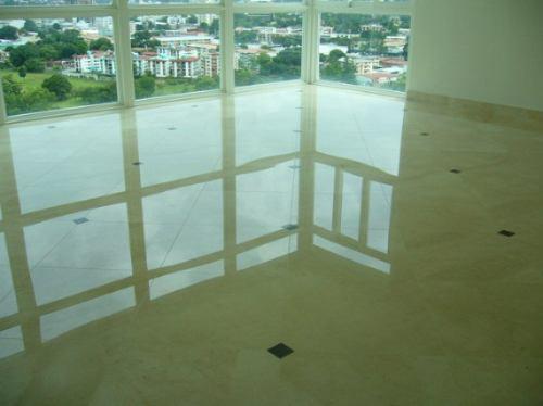 cristalizado servicio piso