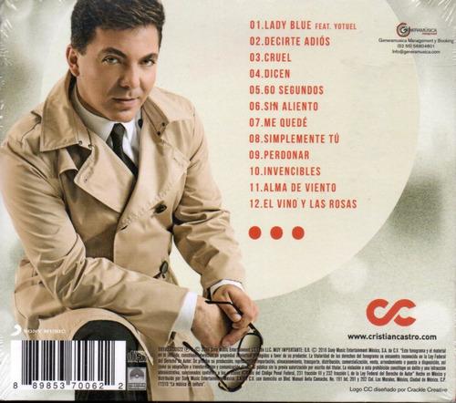 cristian castro / dicen... c d 12 tracks