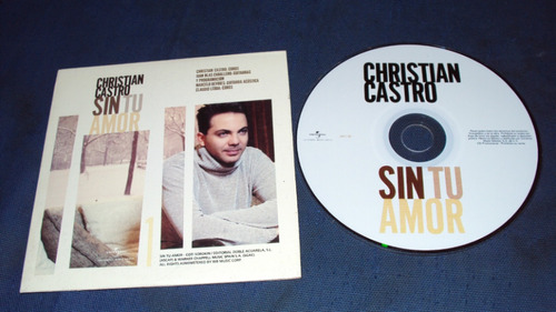 cristian castro sin tu amor cd sencillo exc raro op4