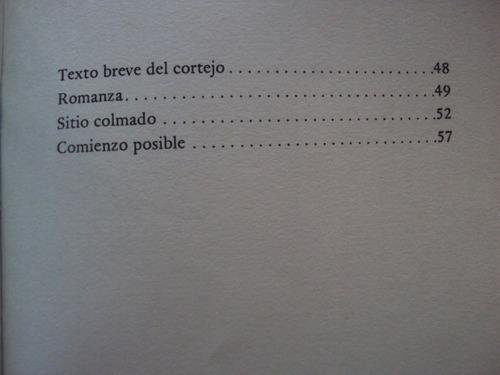 cristina meneghetti. alguna de las cosas. poesia uruguay