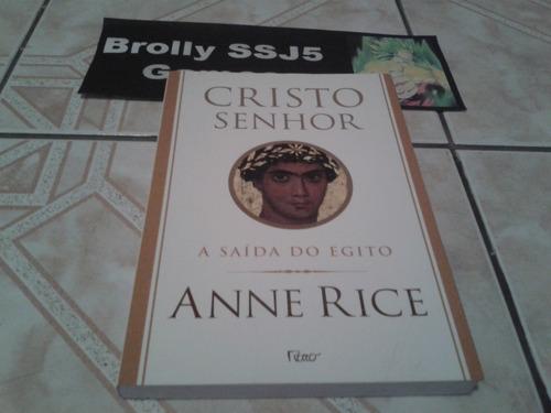 cristo senhor - anne rice - livro