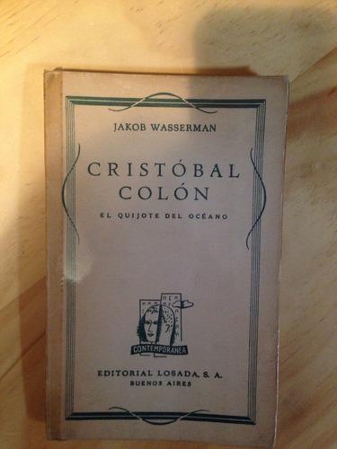 cristobal colon / jakob wasserman
