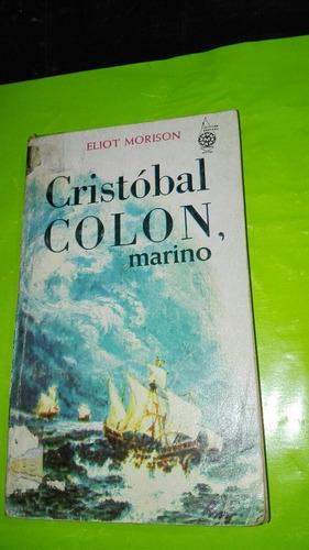 cristobal colon marino eliot morison