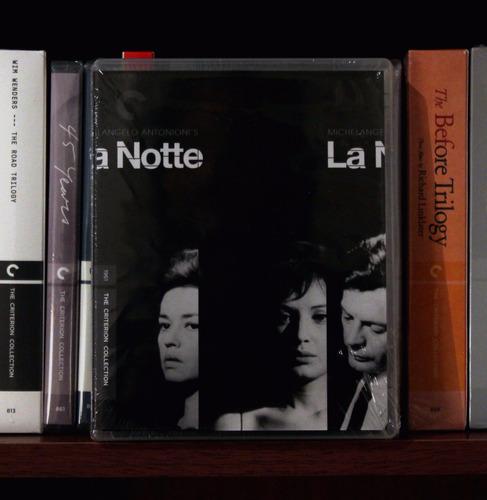 criterion - la notte (bluray) - michelangelo antonioni