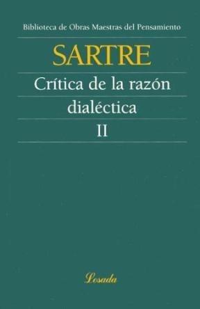 critica de la razón dialéctica ll sartre (filo)