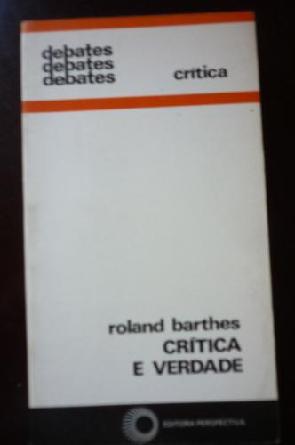 crítica e verdade  -  roland barthes