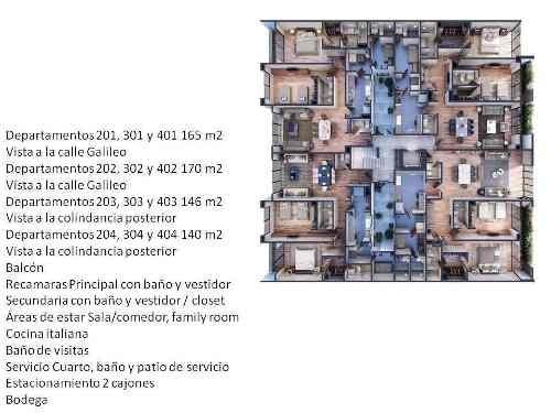 (crm-1355-1011)  departamento galileo polanco dv 309