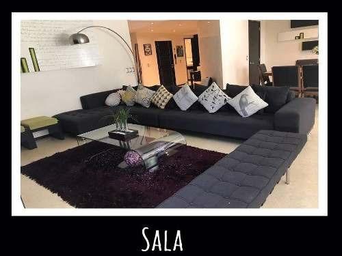 (crm-1355-954)  departamento en renta villa sauces, interlomas dv 294