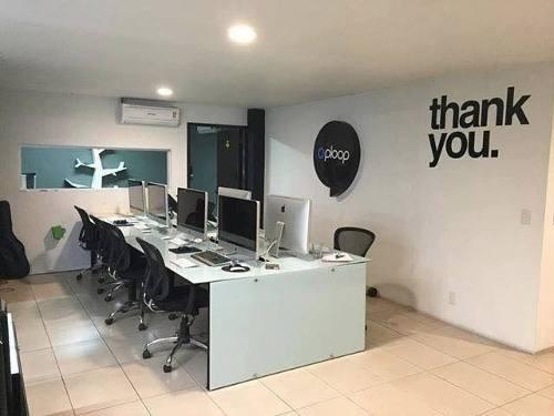 (crm-140-411)  renta oficina en chapultepec