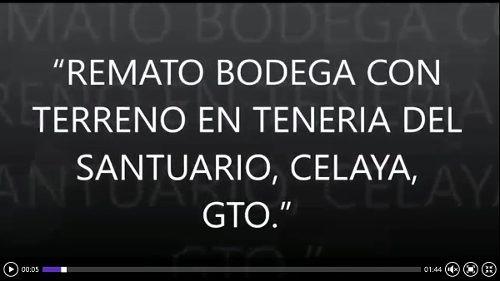 (crm-1621-1236)  bodega en venta celaya, guanajuato