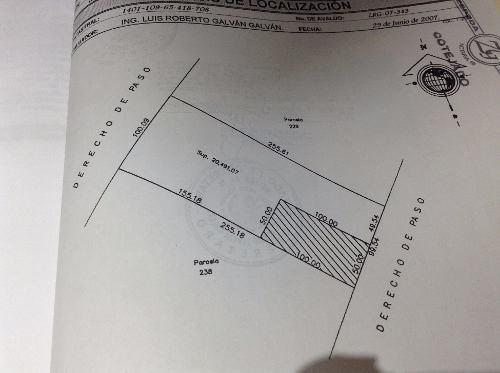 (crm-1621-131)  terreno industrial en venta col. santa maría magdalena, querétaro