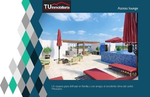 (crm-1621-1366)  venta departamentos playa del carmen, quintana roo