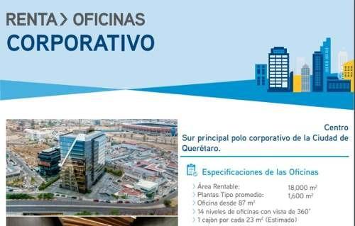 (crm-1621-1941)  gps/ oficinas en renta centro sur, querétaro