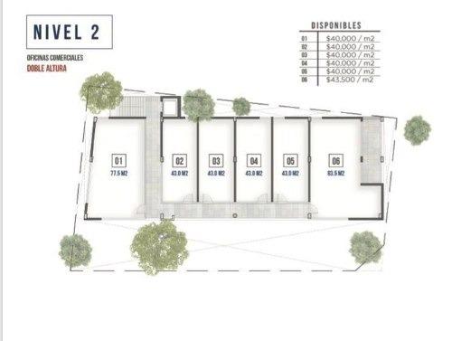 (crm-2438-189)  oficinas / venta en obispado