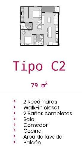 (crm-2438-248)  departamentos en venta en mitras centro
