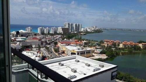(crm-2658-1217)  departamento en venta en cancún zona hotelera