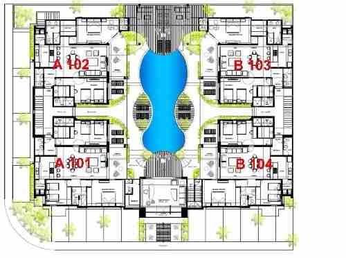 (crm-2658-1565)  departamento en venta en tulum