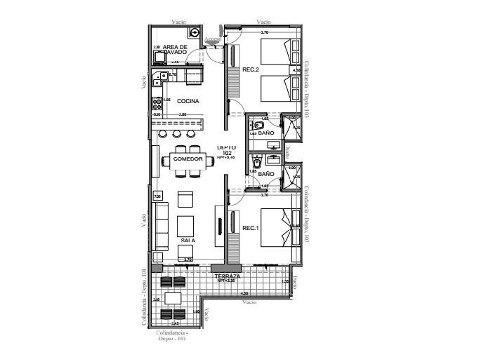 (crm-2658-2102)  departamento en venta en tulum