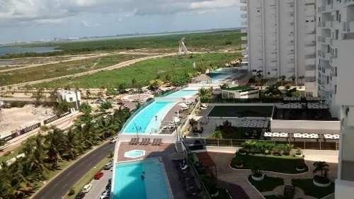(crm-2658-2585)  departamentos en renta malecon americas cancún