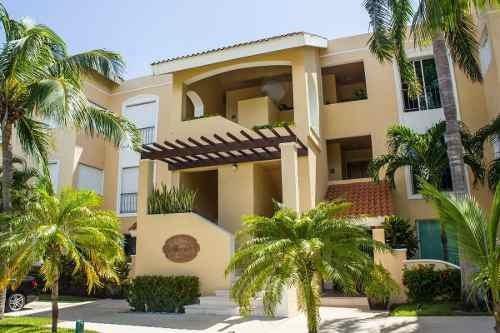 (crm-2658-2624)  departamento con muelle en venta en isla dorada cancún