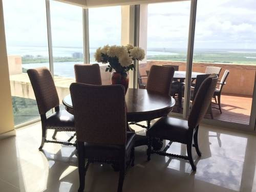 (crm-2658-2669)  departamentos en venta en cancún zona hotelera