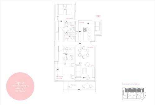 (crm-2658-2686)  departamento en venta en tulum