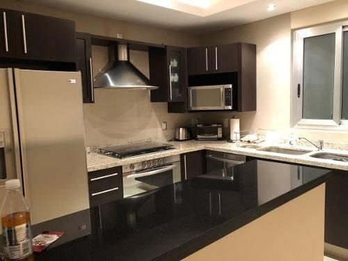 (crm-2658-2887)  departamento en renta en cancun zona hotelera