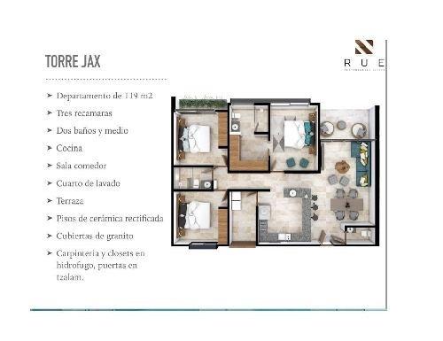 (crm-2658-2898)  departamentos en venta en cancún