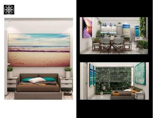 (crm-2658-3555)  departamento en venta en playa del carmen