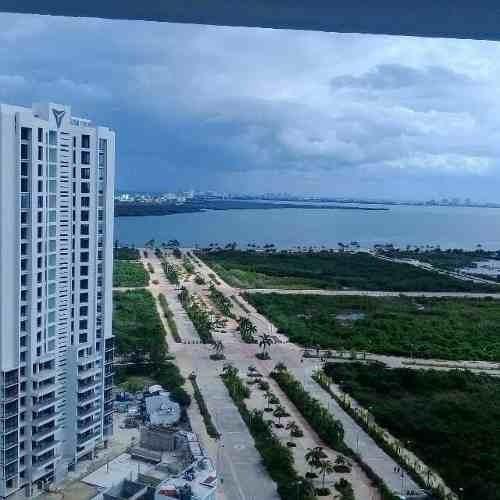 (crm-2658-3842)  departamentos en renta en cancún centro