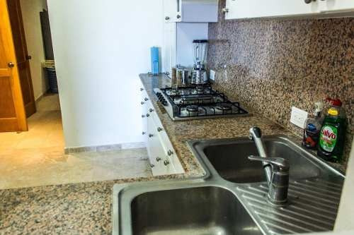 (crm-2658-3847)  departamento frente a laguna en venta en isla dorada cancún