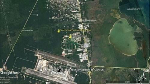 (crm-2658-4278)  terrenos en venta en cancun
