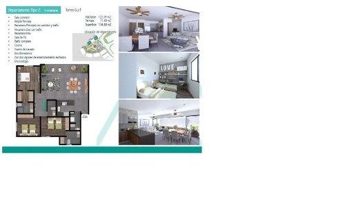 (crm-2658-786)  departamentos en venta en cumbres cancún