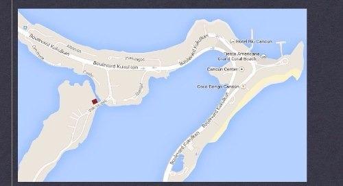 (crm-2658-807)  terreno en venta en zona hotelera cancún
