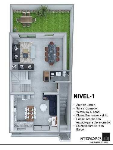 (crm-2910-101)  casa en venta cumbres elite premier, privada pirineos
