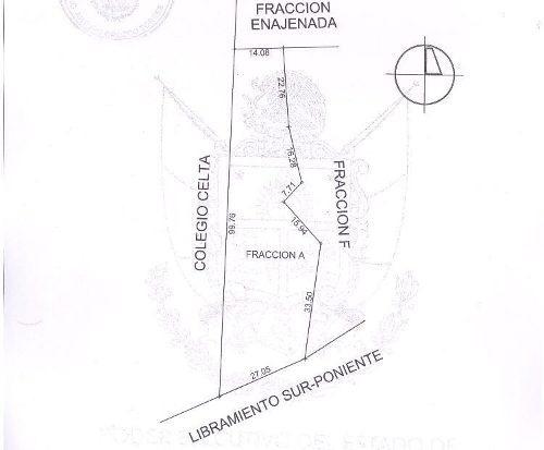 (crm-3486-477)  terreno en venta sobre el libramiento sur-poniente