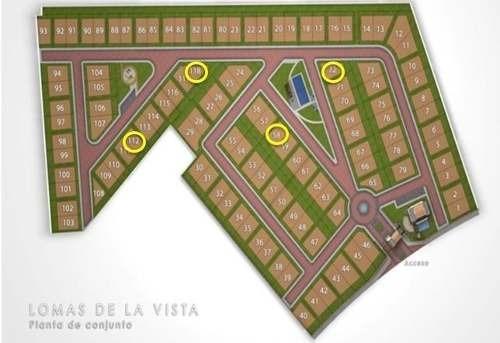 (crm-3486-560)  lote residencial en venta lomas de la vista