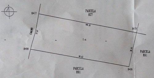 (crm-3764-44)  parcela cacalomacán