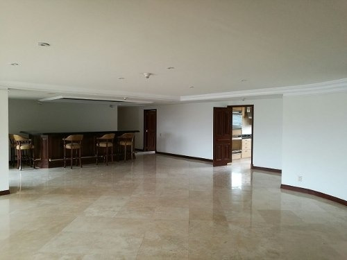 (crm-3816-3206)  skg renta departamento de 3 recámaras en frondoso ii, lomas country
