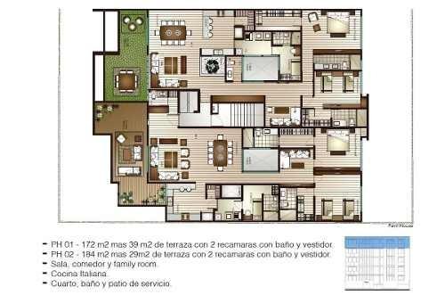 (crm-3816-3427)  preventa de penthouse de lujo en temistocles, polanco cdmx