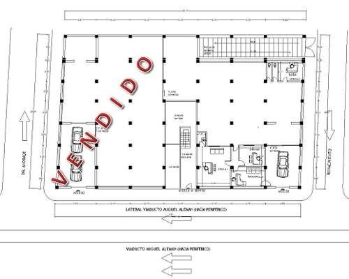 (crm-3816-3589)  skg asesores renta local de 452m2, viaducto miguel aleman