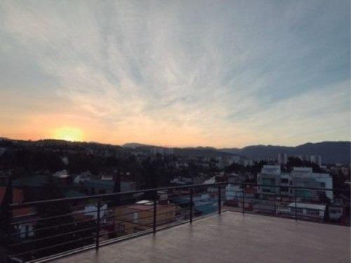 (crm-3816-3607)  skg asesores vende departamento de 2 recámaras en cuajimalpa