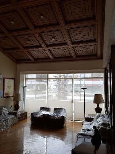 (crm-3816-3769)  skg renta penthouse de 2 niveles con terrazas en  polanco, 3 recámaras